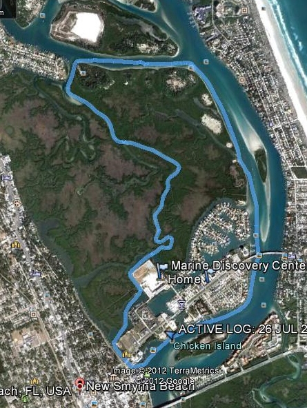 Indian River to Smyrna Creek